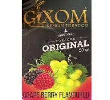 Табак для кальяна Gixom Grape berry / Виноград Ягоды 50 грамм
