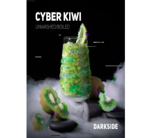 Табак для кальяна Darkside Core Line Cyber Kiwi (Кибер Киви) 100гр