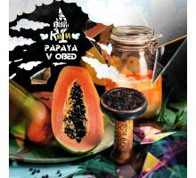 Табак для кальяна Black Burn Papaya v Obed (Черный Берн Папая) 100 грамм