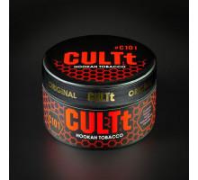 Табак для кальяна CULTt Raspberry Peach / Малина Персик С101 100 грамм