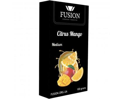 Табак для кальяна Fusion Medium Citrus Mango / Цитрус Манго 100 грамм