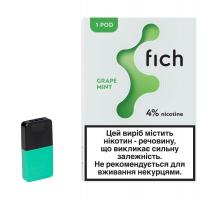 Картридж Fich Pods - Grape Mint 40 mg 0.8 ml 1 шт