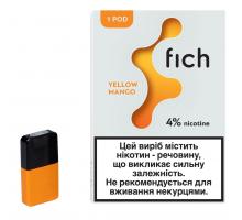 Картридж Fich Pods - Yellow Mango 40 mg 0.8 ml 1 шт