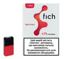 Картридж Fich Pods - Red star 40 mg 0.8 ml 1 шт