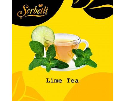 Табак для кальяна Serbetli Lime Tea / Лаймовый Чай 50 грамм