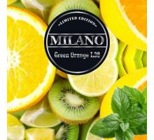 Табак для кальяна Milano Limited Edition Green Orange L38 (Грин Апельсин) 100 грамм