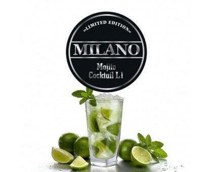 Табак для кальяна Milano Limited Mojito Coctail L1 (Мохито Коктейль) 100 грамм