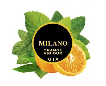 Табак для кальяна Milano Orange Vigiour / Апельсин Мята M18 100 грамм