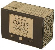 Уголь для кальяна Sky Group Oasis 1 кг (72 шт)