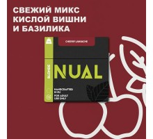Табак для кальяна Nual Cherry Lamiachi (Вишня Ламиаче) 100 грамм