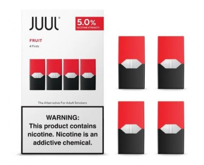 JUUL PODS (4 картриджи) — FRUIT 5% (оригинал)