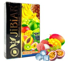 Табак для кальяна Jibiar Fresh Exotic / Фреш Экзотик 50 грамм