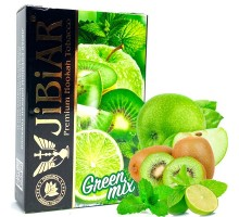 Табак для кальяна Jibiar Green Mix / Грин Микс 50 грамм