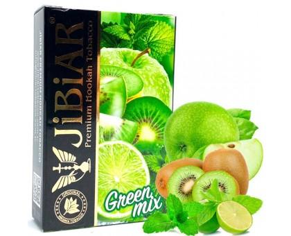 Табак для кальяна Jibiar Green Mix / Грин Микс 50 грамм