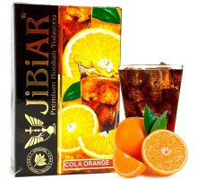 Табак для кальяна Jibiar Cola Orange / Кола Апельсин 50 грамм