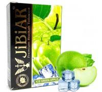 Табак для кальяна Jibiar Ice Green Apple / Зеленое Яблоко Лед 50 грамм
