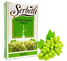 Табак для кальяна Serbetli Grape / Виноград 50 грамм(Потекшая пачка)