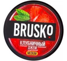 Табак для кальяна Brusko Клубничный джем 50 грамм
