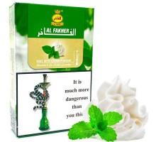 Табак для кальяна Al Fakher Mint with Cream / Мята Сливки 50 грамм