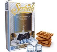 Табак для кальяна Serbetli Ice Chocolate Milk / Ледяной Шоколад Милк 50 грамм(Потекшая пачка)
