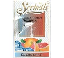 Табак для кальяна Serbetli Ice Grapefruit / Ледяной Грейпфрут 50 грамм(Потекшая пачка)