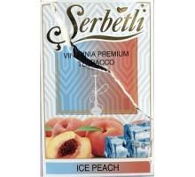 Табак для кальяна Serbetli Ice Peach / Ледяной Персик 50 грамм(Потекшая пачка)