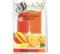 Табак для кальяна Serbetli Orange Mango / Апельсин Манго 50 грамм(Потекшая пачка)