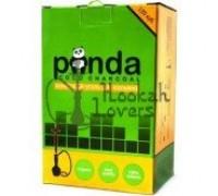 Уголь кокосовый Panda 1кг (120 шт), малый кубик