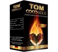 Уголь кокосовый Tom Coco Gold C 22 1кг (96 шт)