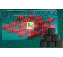 Уголь кокосовый CoCoal Premium 0,7кг (64 шт), средний кубик