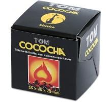 Уголь кокосовый Tom Cococha (8 шт), большой кубик