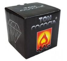 Кокосовый уголь Tom Cococha Diamond 1 кг (64 кубика)