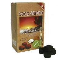 Уголь кокосовый Coco shisha 1кг (112 шт), малый кубик