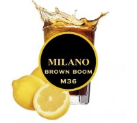 Табак для кальяна Milano Brown Boom / Кола Лимон M36 100 грамм