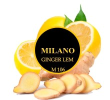 Табак для кальяна Milano Ginger Lemon M106 (Имбирь Лимон) 100 грамм