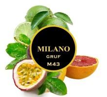 Табак для кальяна Milano Gruf / Грейпфрут Лайм Маракуя M43 100 грамм