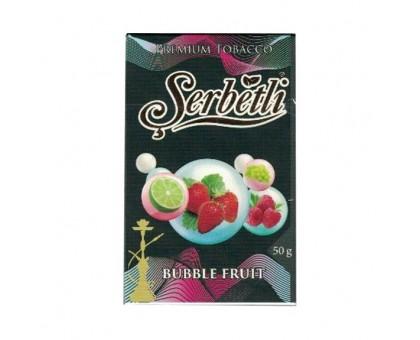 Табак для кальяна Serbetli Bubble Fruit/ (Фруктовые пузырьки) 50 грамм(Потекшая пачка)