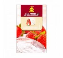 Табак для кальяна Al Fakher Strawberry cream / Клубничный крем 50 грамм