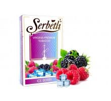 Табак для кальяна Serbetli Ice Berry / Ледяные ягоды 50 грамм(Потекшая пачка)