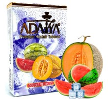 Табак для кальяна Adalya Double Melon Ice / Ледяной арбуз дыня 50 грамм