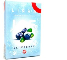 Табак для кальяна Lirra Ice Blueberry / Лирра Черника Лед 50 грамм
