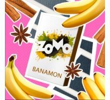Табак для кальяна Zomo(Зомо) Banamon / Банамон (десертное сочетание банана с корицей) 50 грамм