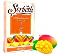 Табак для кальяна Serbetli Mango / Манго 50 грамм