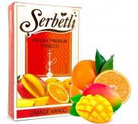 Табак для кальяна Serbetli Orange Mango / Апельсин Манго 50 грамм