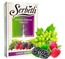 Табак для кальяна Serbetli Grape Berry / Виноград Ягоды 50 грамм