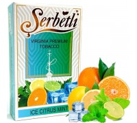 Табак для кальяна Serbetli Ice Citrus Mint / Лед Цитрус Мята 50 грамм