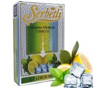 Табак для кальяна Serbetli Ice Lemon Mint / Лед Лимон Мята 50 грамм