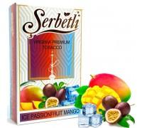 Табак для кальяна Serbetli Ice Passionfruit Mango / Маракуйя Манго Лед 50 грамм