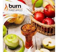 Табак для кальяна Burn Three Apples / Тройное яблоко 100 грамм