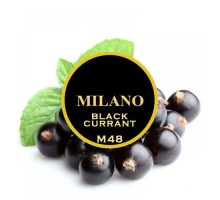 Табак для кальяна Milano Black Currant / Смородина M48 100 грамм